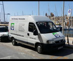 TCR Cleaning Van