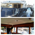 Superyacht upholstery cleaning