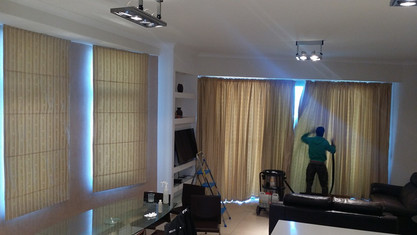 Cleaning of Curtains and blinds
