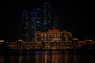 Emirates Palace Glow, Abu Dhabi, UAE