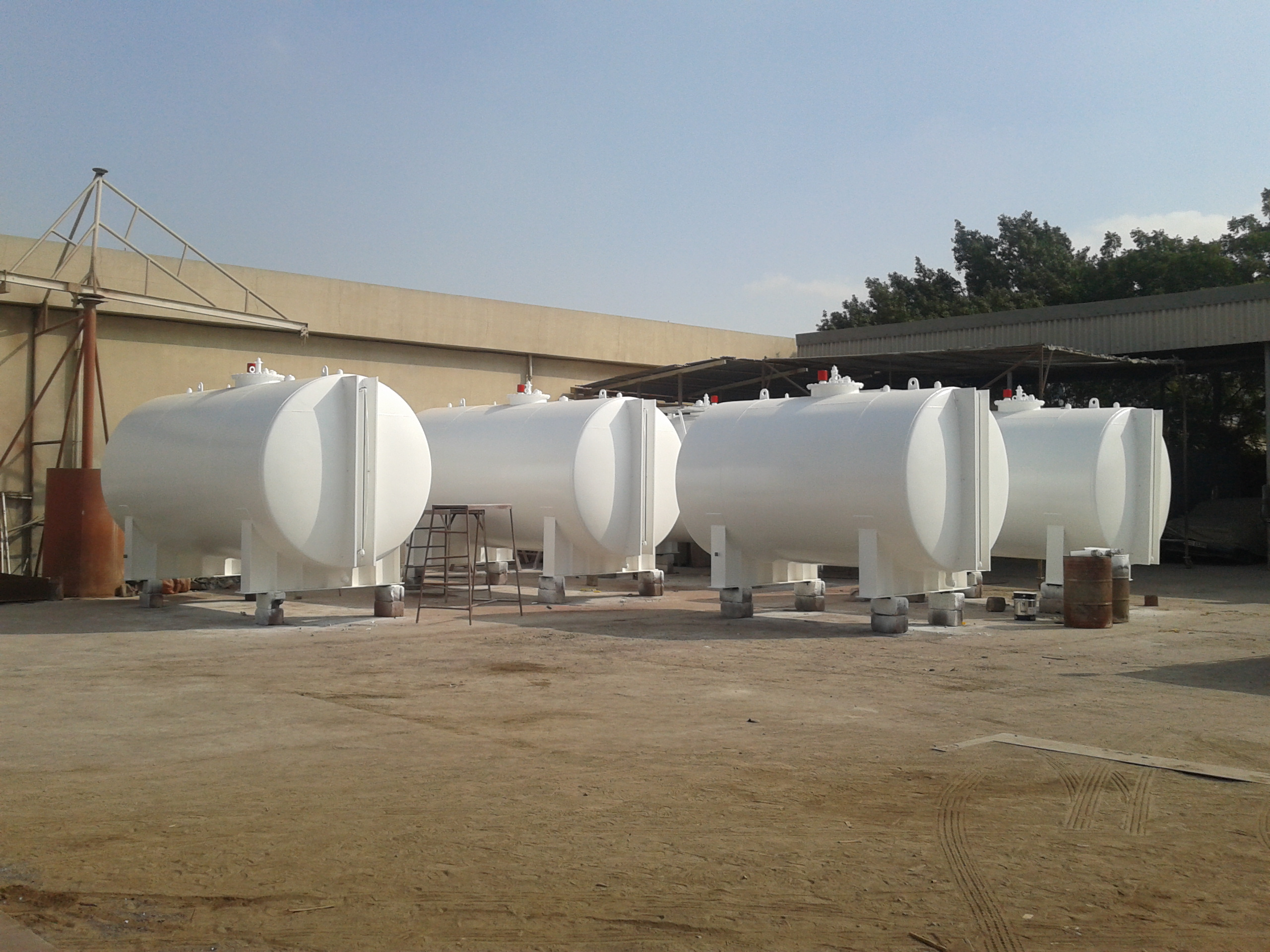 20,000 liters single wall tanks