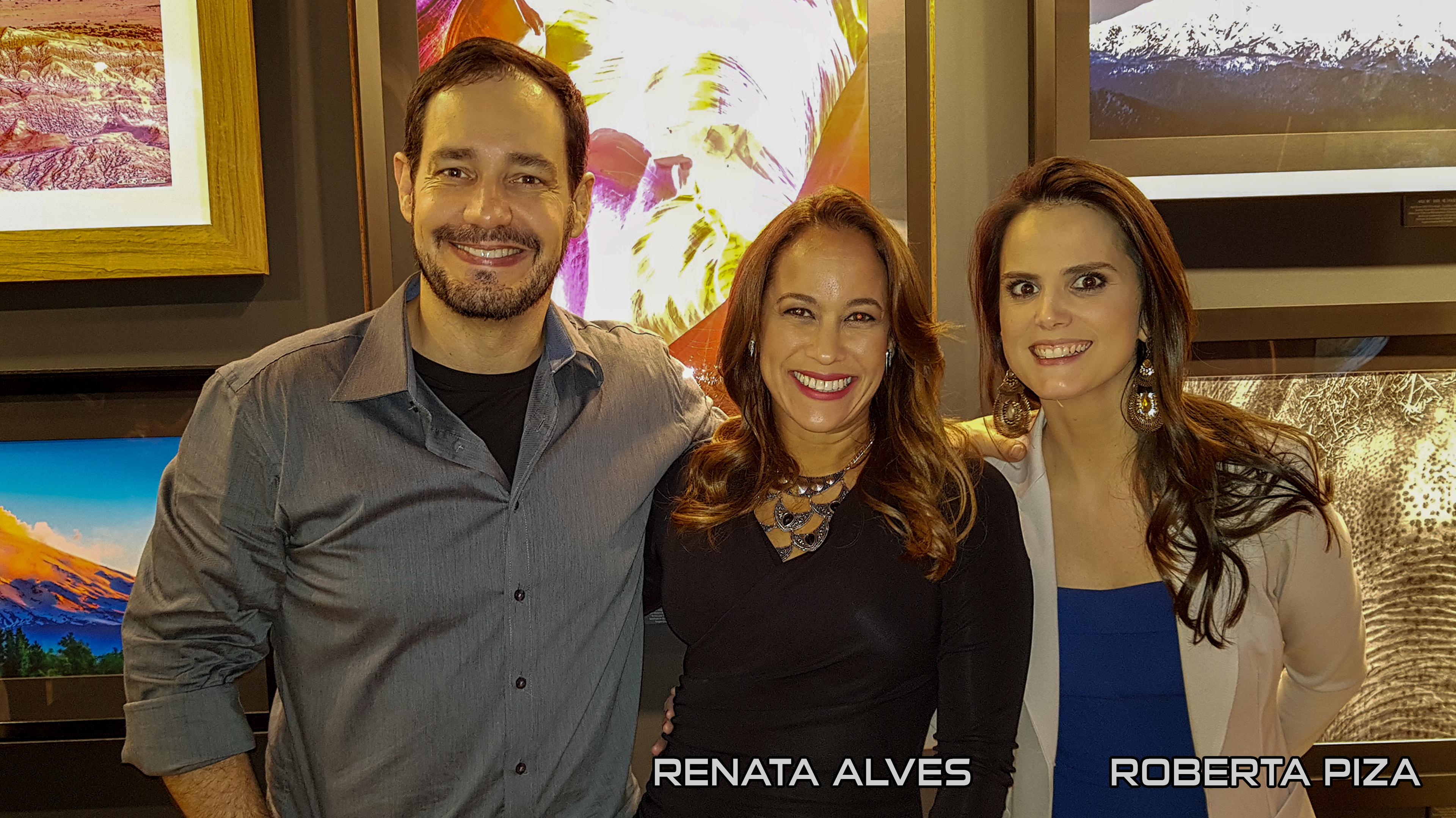 Renata Alves e Roberta Piza