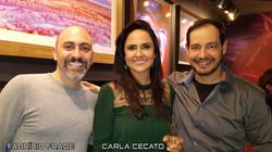 Carla Cecato e Fabricio Frade