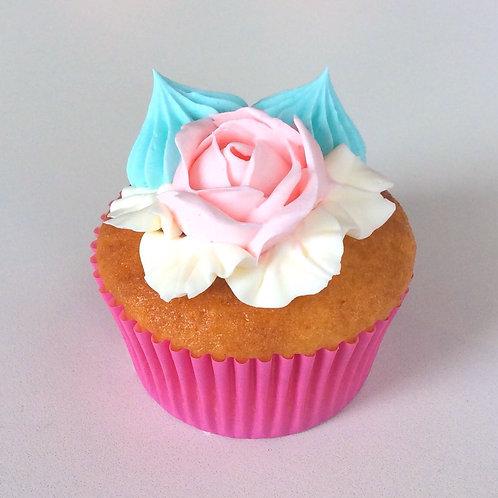 フラワーカップケーキ(ローズ1)