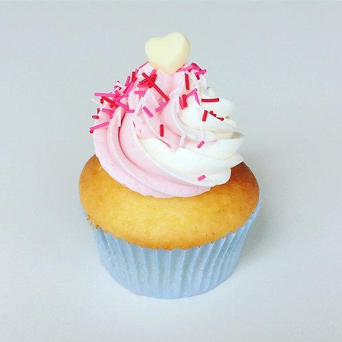カップケーキ・ストロベリー