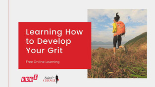 Learning How to Develop Your Grit
