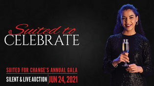 Suited for Change's Annual Gala - Suited to Celebrate