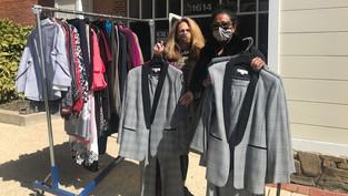 Generous Clothing Donation!