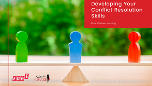 Developing Your Conflict Resolution Skills
