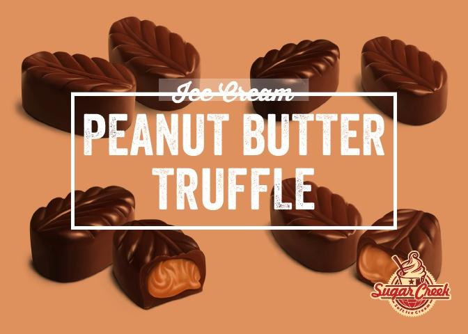 Ice Cream Twist - Peanut Butter Truffle.