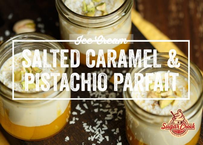Ice Cream Twist - Salted Caramel & Pista