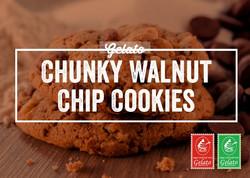 Gelato Twist - Chunky Walnut Chip Cookie
