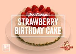 Ice Cream Twist- Strawberry Birthday Cak