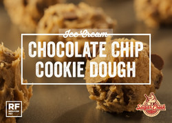 Ice Cream - Chocolate Chip Cookie Dough.