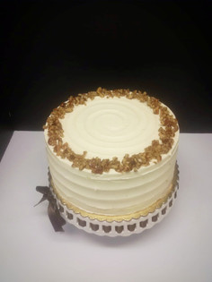 Pumpkin Cake with Browned Butter Frosting