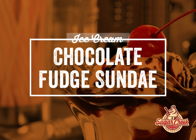 Ice Cream Twist - Chocolate Fudge Sundae