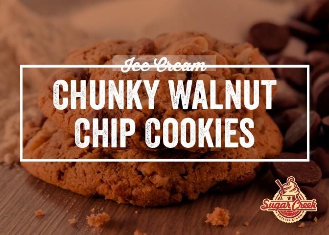 Ice Cream Twist - Chunky Walnut Chip Coo