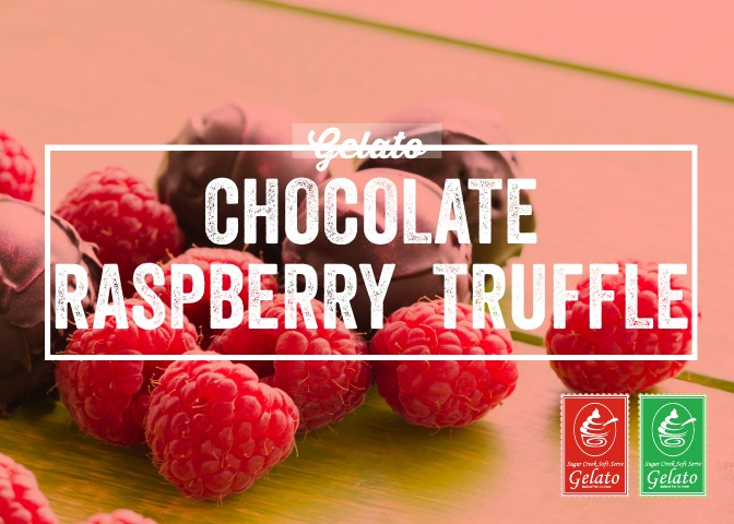 Gelato Twist - Chocolate Raspberry Truff