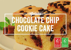 Gelato Twist - Chocolate Chip Cookie Cak