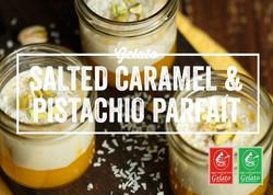 Gelato Twist - Salted Caramel & Pistachi
