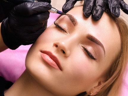 Cosmetic Tattoo: Eyebrow