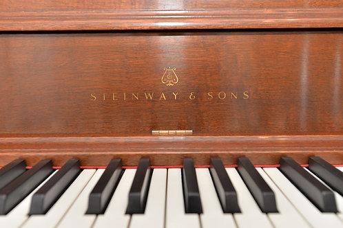 Steinway Console Piano Model F