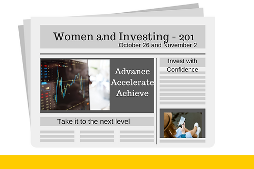 Women and Investing 201