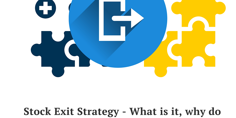 Stock Exit Plan Strategy