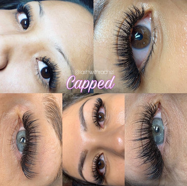 CAPPED LASHES