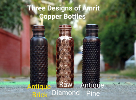The Ultimate Gift of Health- Amrit Copper Bottles