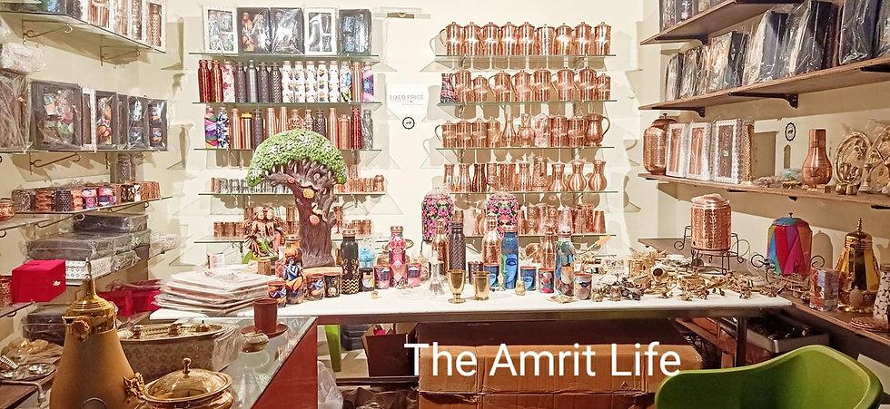 The Amrit Life Premium Copperware, Brassware and Mittiware Store Sector 11 Gurgaon, India