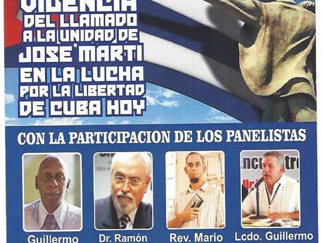 Cubanos Unidos Le Invita al Foro Martiano