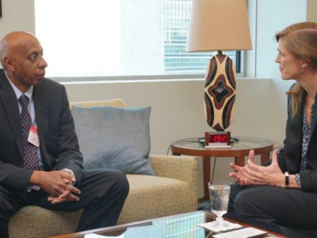 Embajadora de EEUU ante la ONU recibió a opositor cubano Guillermo Fariñas