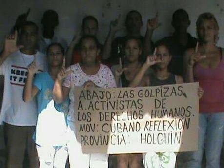 Detención Arbitraria de los miembros movimiento reflexión en Cuba.