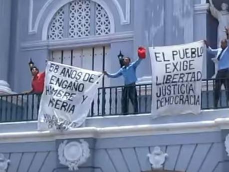 Arrestan a opositores que protestaron el 26 de julio en Santiago de Cuba