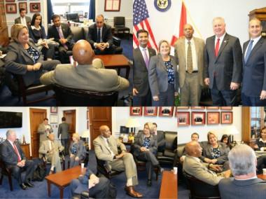 Guillermo Fariñas se reúne con congresistas cubanoamericanos en Washington