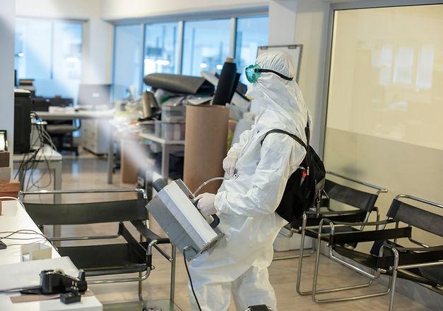 Corona spraying in office floor.jpg
