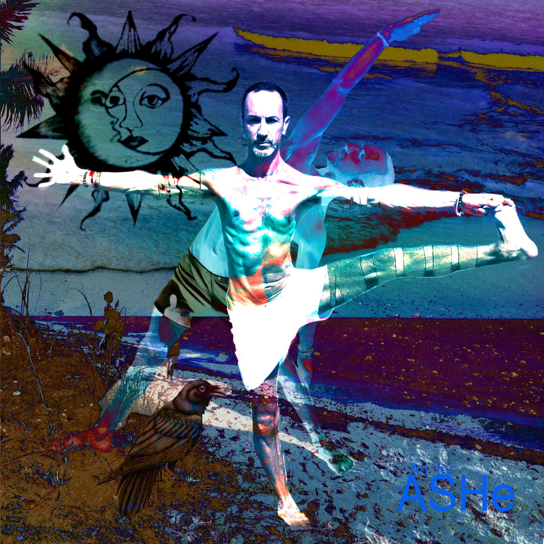 Ashe Levesque Beach Yogi 2 30''x3''x1''