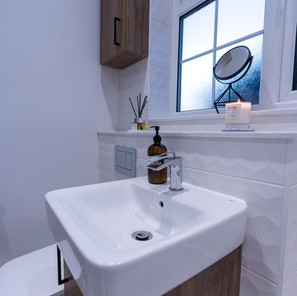 Compact but functional basin