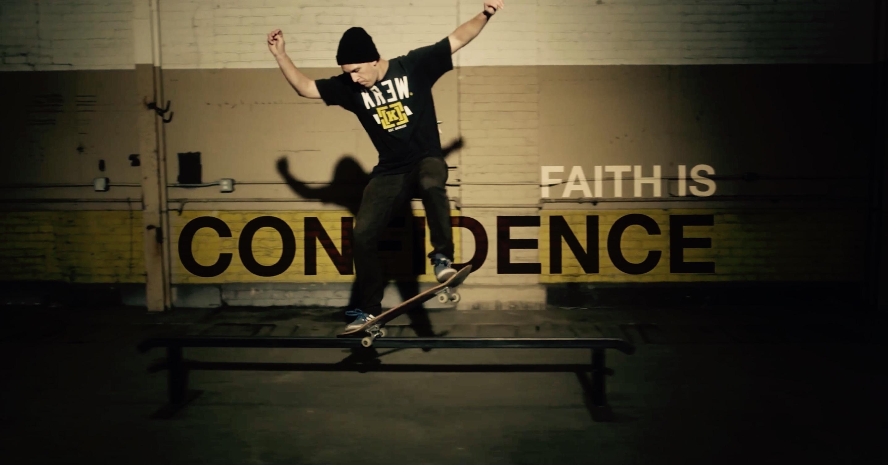 Skateboards & Faith