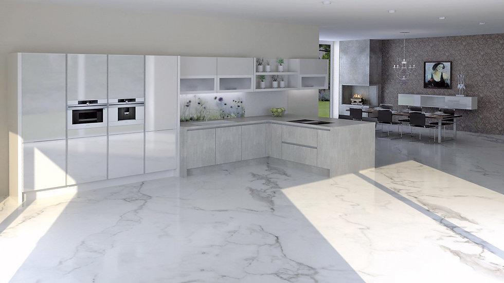 Bodenbeläg für Küche und Esszimmer