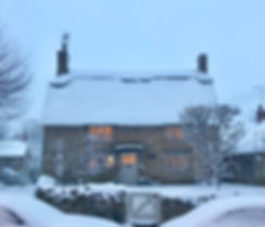Cotswolds Cottage snowfall The Holiday lookalike