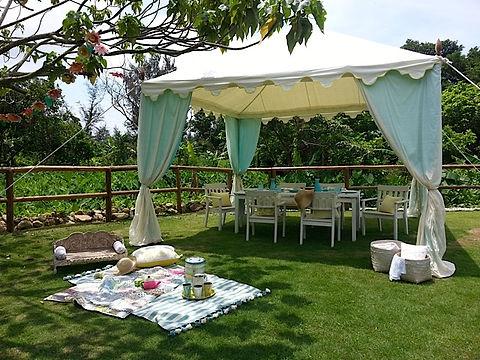 Lantau Island Hong Kong residence house garden dining al fresco picnic