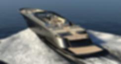Private Yacht interior design luxury