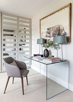 London Boutique Residences office desk
