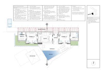 Hotel Le Toiny luxury hotel interior design floor plan