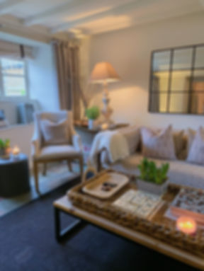 Cotswolds Cottage neutral furnishings textures woven home comfort accessories