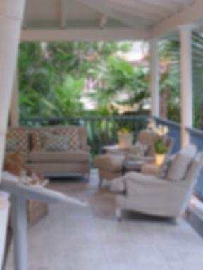 Hotel Cheval Blanc Isle de France restaurant lounge deck porch