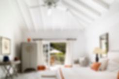 Hotel Cheval Blanc Isle de France hotel room suite bespoke furnishings garden room