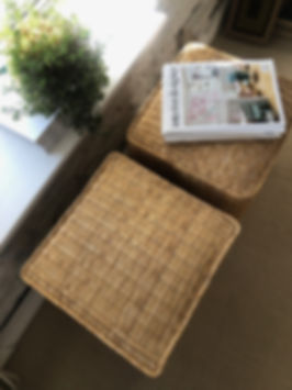 Interior Design Studio woven poufs Interioer Designer Magazine details